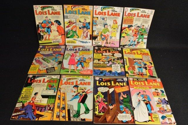 (12) Superman's Girl Friend Lois Lane, DC Comics
