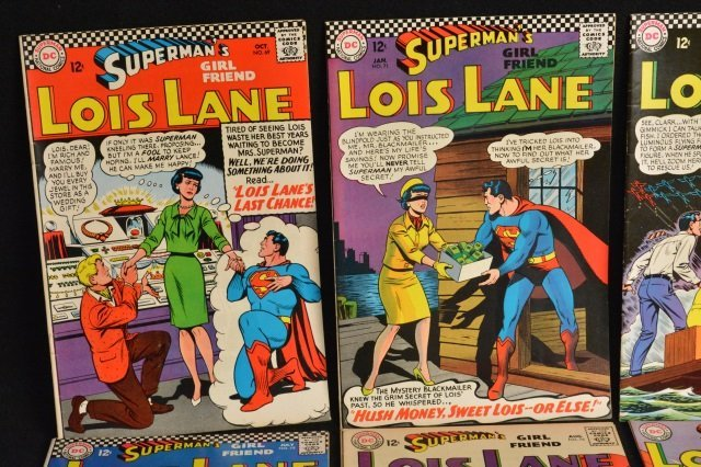 (12) Superman's Girl Friend Lois Lane, DC Comics. - 2