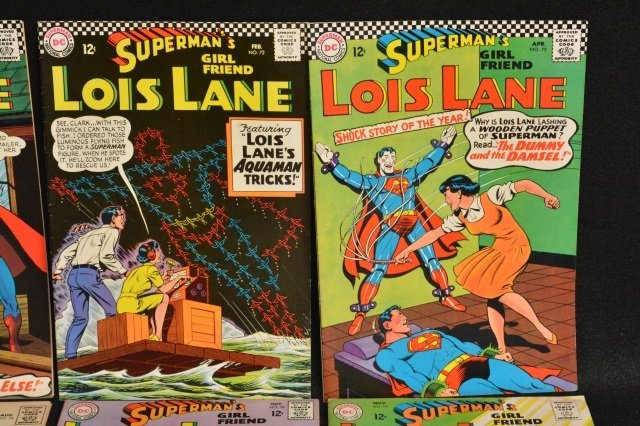 (12) Superman's Girl Friend Lois Lane, DC Comics. - 3