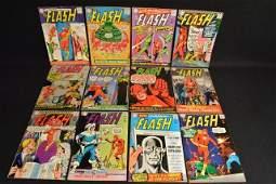 12 The Flash DC Comics Silver  Bronze Age
