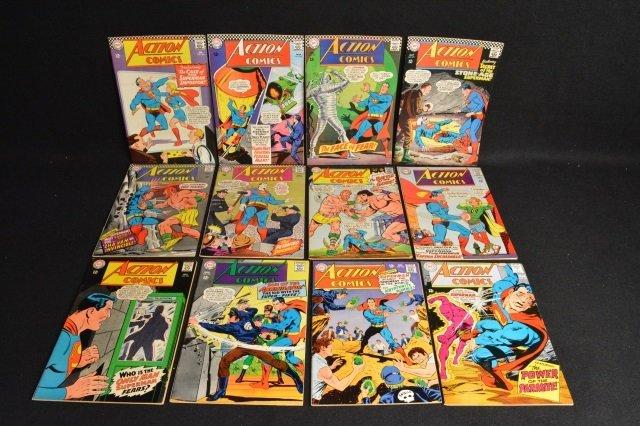 (12) Action Comics, DC Comics Silver Age