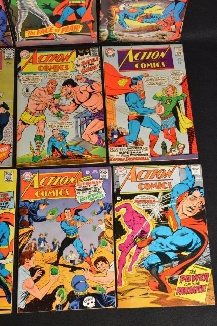 (12) Action Comics, DC Comics Silver Age - 2