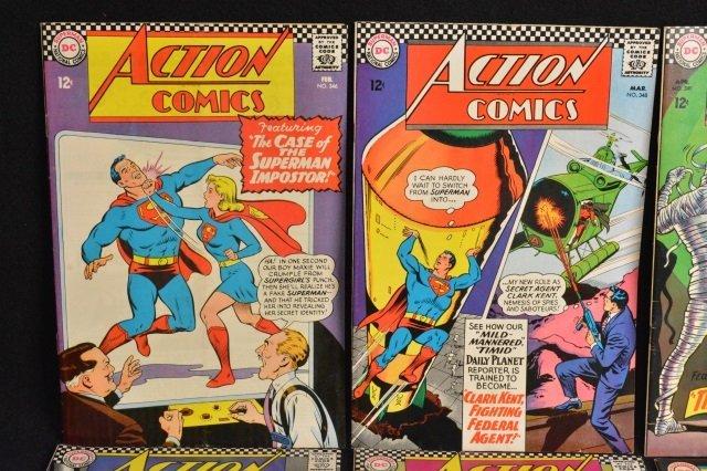 (12) Action Comics, DC Comics Silver Age - 3