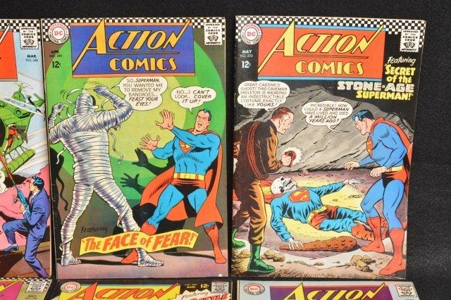 (12) Action Comics, DC Comics Silver Age - 4