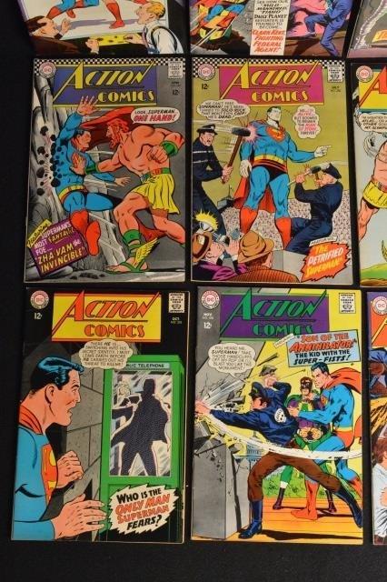 (12) Action Comics, DC Comics Silver Age - 5