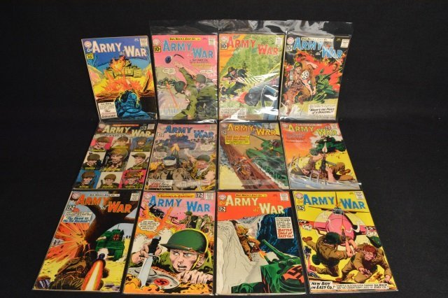 (12) Our Army at War, DC Comics Silver Age