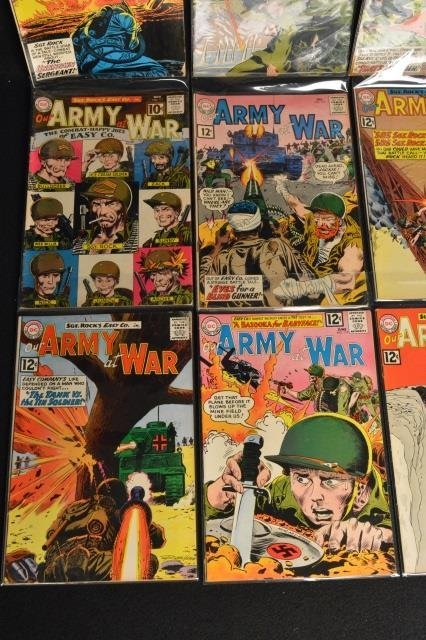 (12) Our Army at War, DC Comics Silver Age - 4