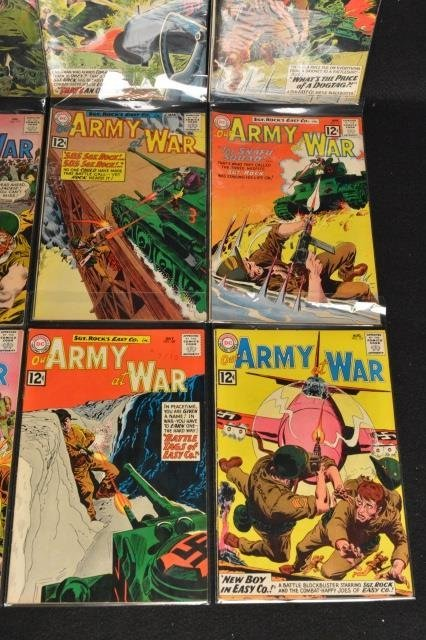 (12) Our Army at War, DC Comics Silver Age - 5