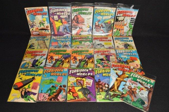 (21) Forbidden Worlds, DC Comics Silver Age