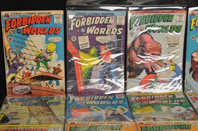 (21) Forbidden Worlds, DC Comics Silver Age - 2