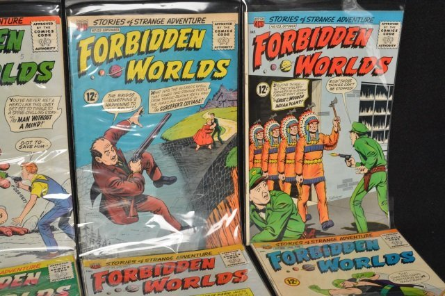 (21) Forbidden Worlds, DC Comics Silver Age - 3