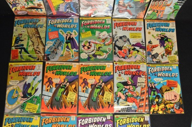 (21) Forbidden Worlds, DC Comics Silver Age - 4