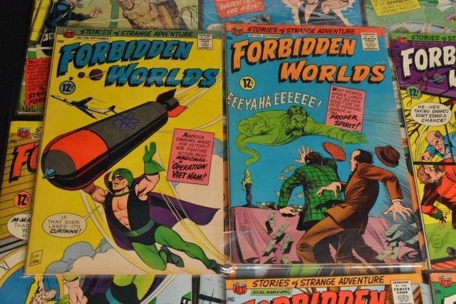 (21) Forbidden Worlds, DC Comics Silver Age - 5