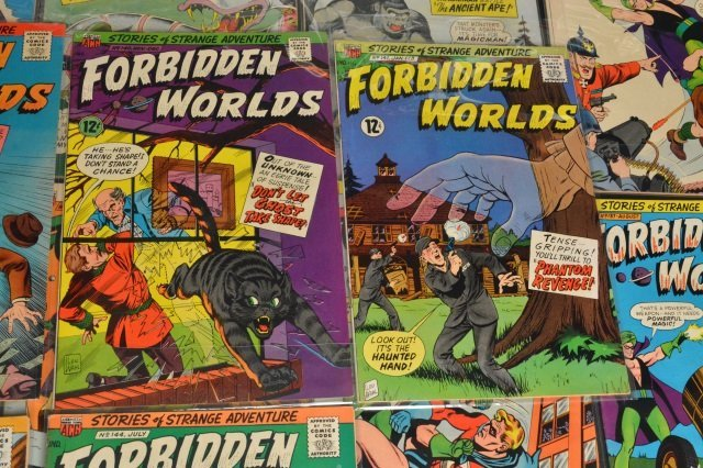 (21) Forbidden Worlds, DC Comics Silver Age - 6