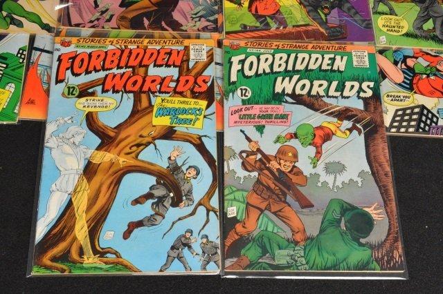 (21) Forbidden Worlds, DC Comics Silver Age - 7