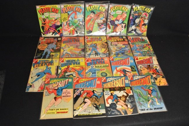 (19) Mixed Lot Slver Age, DC Comics Silver Age