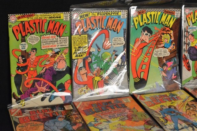 (19) Mixed Lot Slver Age, DC Comics Silver Age - 2