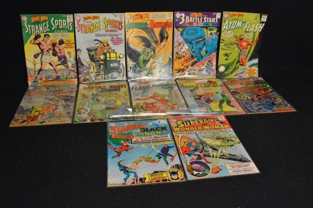 (12) Mixed Lot, DC Comics Silver Age