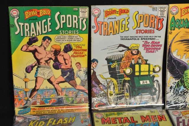 (12) Mixed Lot, DC Comics Silver Age - 2