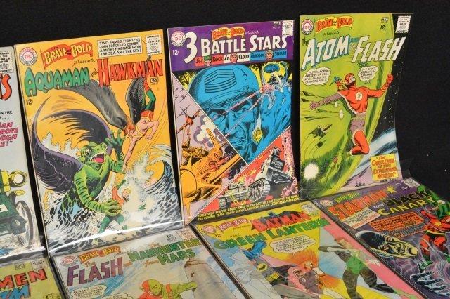 (12) Mixed Lot, DC Comics Silver Age - 3
