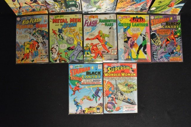 (12) Mixed Lot, DC Comics Silver Age - 4