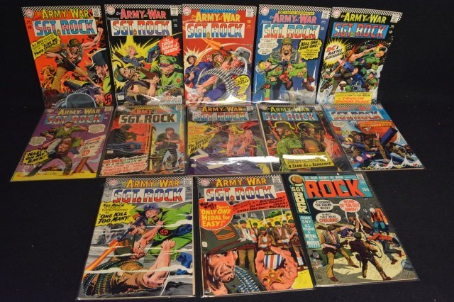 (13) Our Army at War/Sgt. Rock, DC Comics