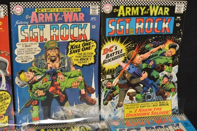 (13) Our Army at War/Sgt. Rock, DC Comics - 3