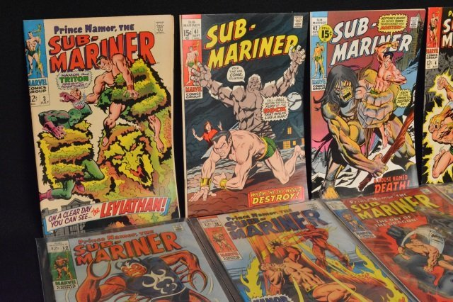 (14) Sub-Mariner, Marvel Comics - 3