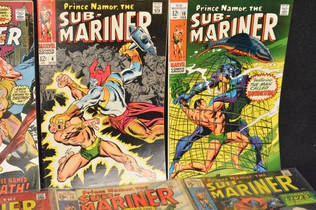 (14) Sub-Mariner, Marvel Comics - 4