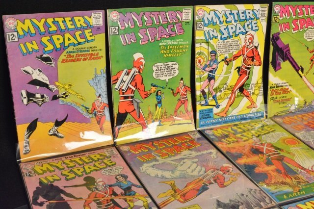 (16) Mystery in Space, DC Comics Silver Age - 2