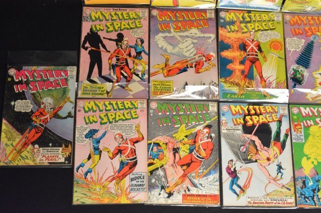 (16) Mystery in Space, DC Comics Silver Age - 4