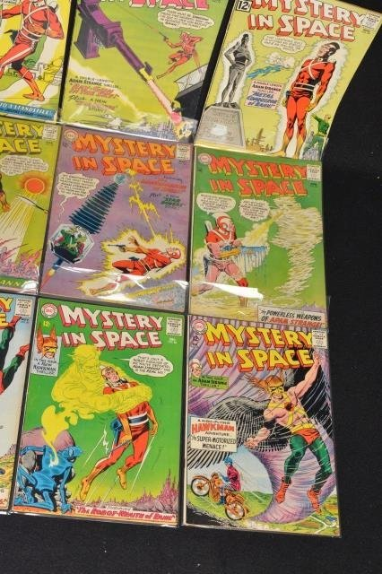 (16) Mystery in Space, DC Comics Silver Age - 5