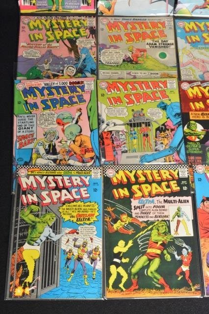 (20) Mystery in Space, DC Comics Silver Age - 2