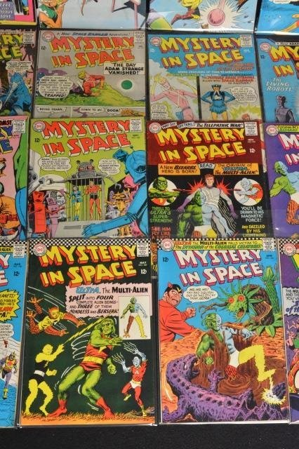(20) Mystery in Space, DC Comics Silver Age - 3
