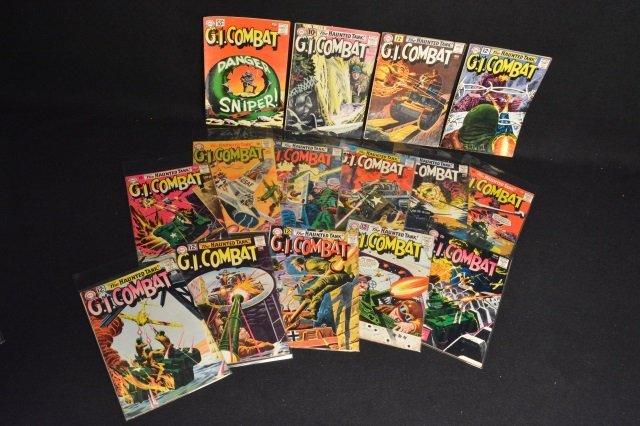(15) G.I. Combat, DC Comics Silver Age