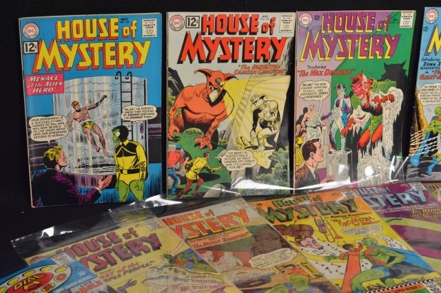 (24) House Of Mystery, DC Comics Silver Age - 2