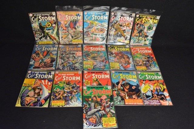 (16) Capt. Storm, DC Comics Silver Age