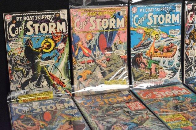 (16) Capt. Storm, DC Comics Silver Age - 2