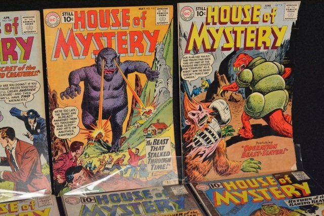 (15) House Of Mystery, DC Comics Silver Age - 3