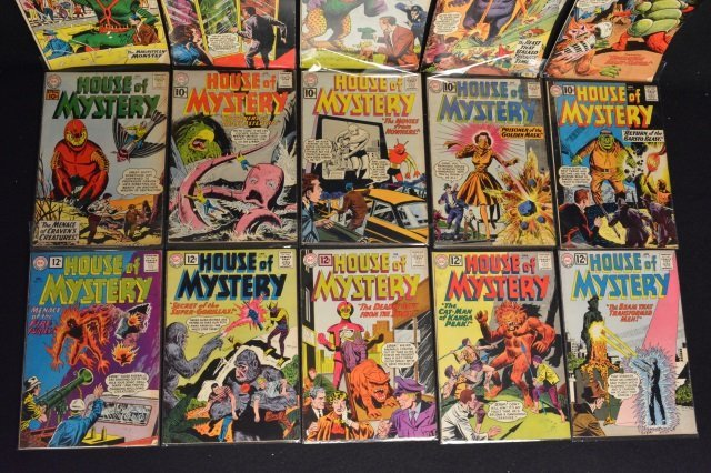 (15) House Of Mystery, DC Comics Silver Age - 4