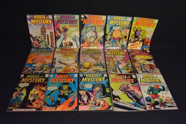 (15) House Of Mystery, DC Comics Silver Age