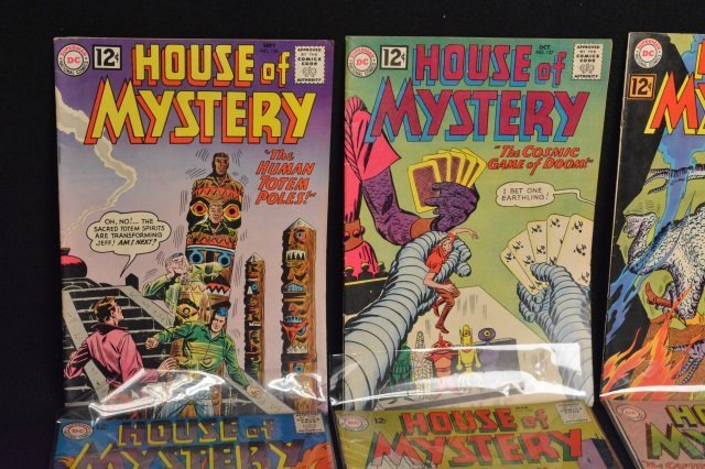 (15) House Of Mystery, DC Comics Silver Age - 2