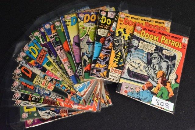 (25) The Doom Patrol, DC Comics Silver Age