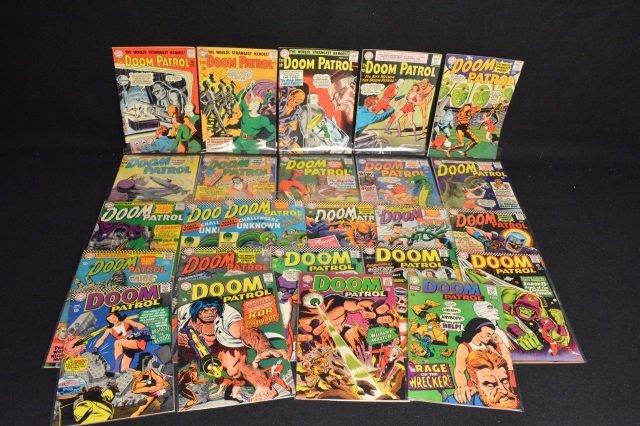 (25) The Doom Patrol, DC Comics Silver Age - 2