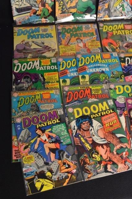 (25) The Doom Patrol, DC Comics Silver Age - 3