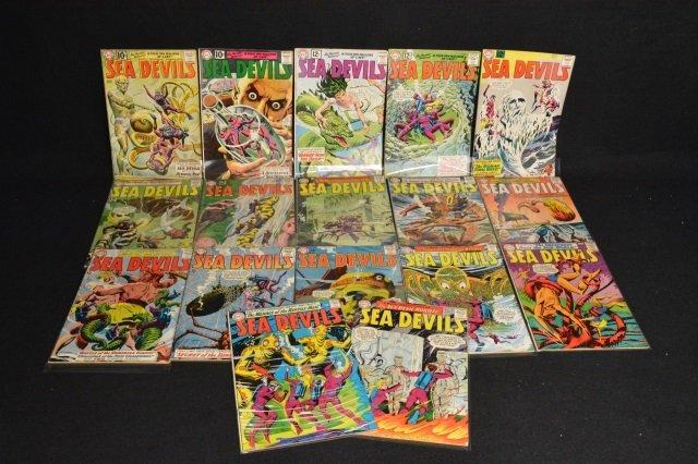 (17) Sea Devils, DC Comics Silver Age