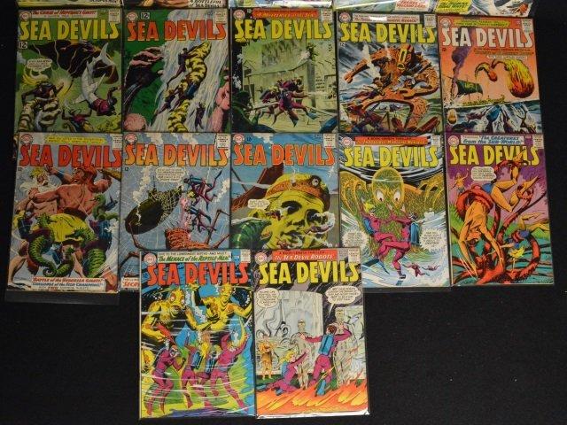 (17) Sea Devils, DC Comics Silver Age - 2