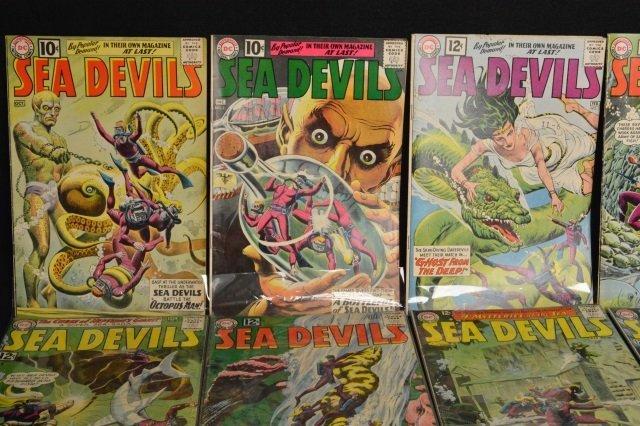 (17) Sea Devils, DC Comics Silver Age - 3