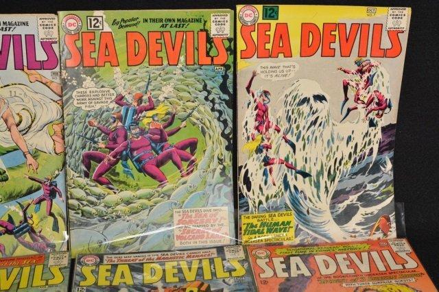 (17) Sea Devils, DC Comics Silver Age - 4