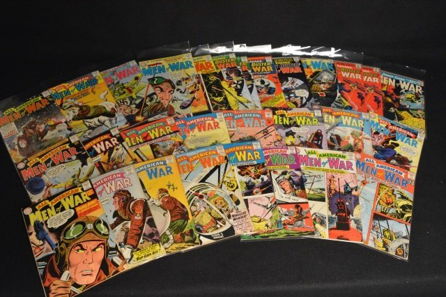 (29) All-American Men of War, DC Comics Silver Age